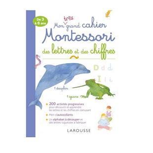 Mon très grand cahier Montessori des lettres et des chiffres, Larousse