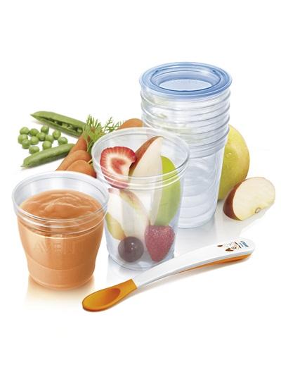 Set de pots de conservation des aliments sans BPA