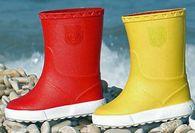 Les petites bottes de pluie