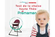 Chaise haute Theo Prémaman de Orchestra : résultats du test