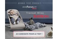 Test Babybjörn : transat Bliss