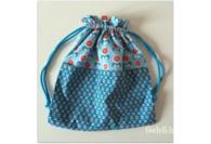 DIY : Le petit sac en tissu doublé