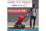 Test de la nouvelle poussette naissance Stella de Bébé Confort !