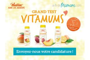 Testez la boisson Vitamums de Modilac !