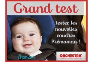 Test des couches Prémaman : les parents se confient !