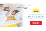 Matelas de bébé eve Sleep : Le Test !