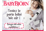 Les parents ont testé le porte bébé We Air de BabyBjörn !
