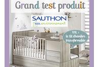 Les parents ont testé le lit XXL de Sauthon !