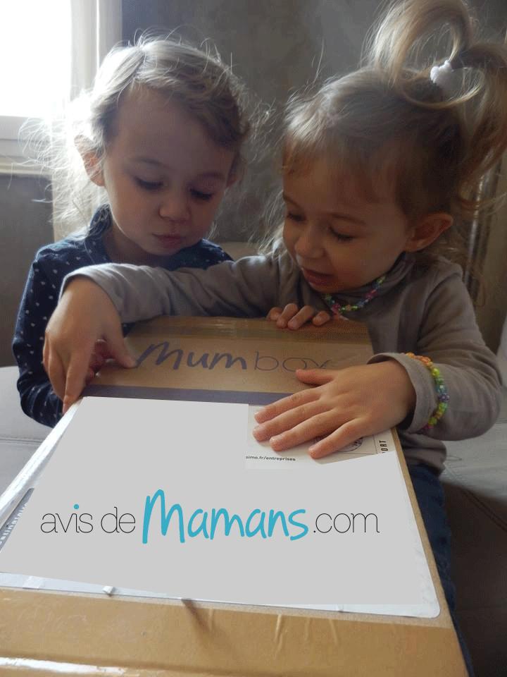 ouverture de la Mum box