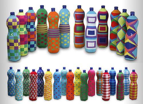 photo chaussettes bouteilles