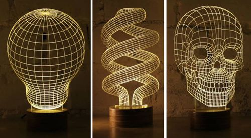photo 3 lampes