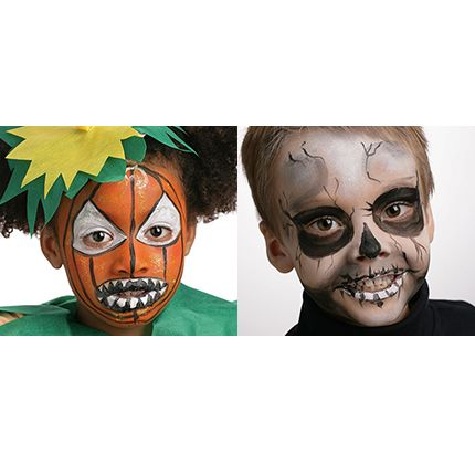 Indispensable pour Halloween - le maquillage