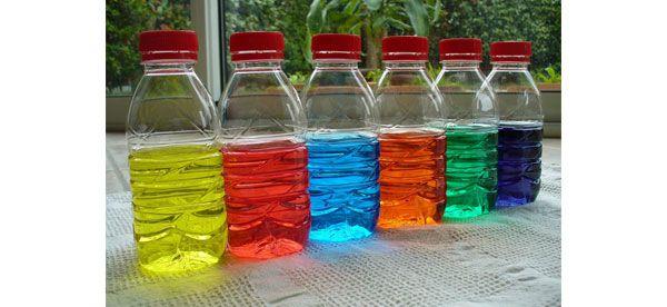 Bouteilles colorées Img
