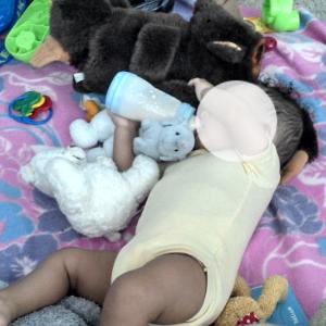 bébé de Mouna