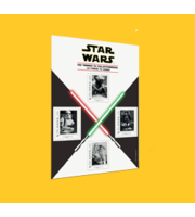 4 timbres Star Wars