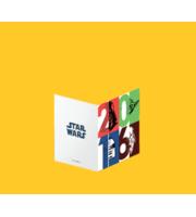 Des cartes de voeux Star Wars