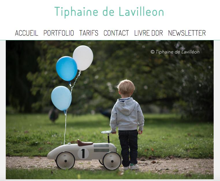 Tiphaine de Lavilleon, qui est photographe pour toute la famille !