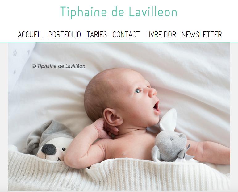 Tiphaine de Lavilleon, photographe enfants & bébés