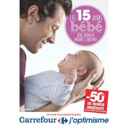 Les 15 jours bébé dans les parapharmacies Carrefour