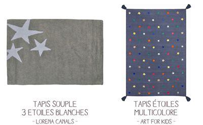 Décobb tapis - image des étoiles au sol …