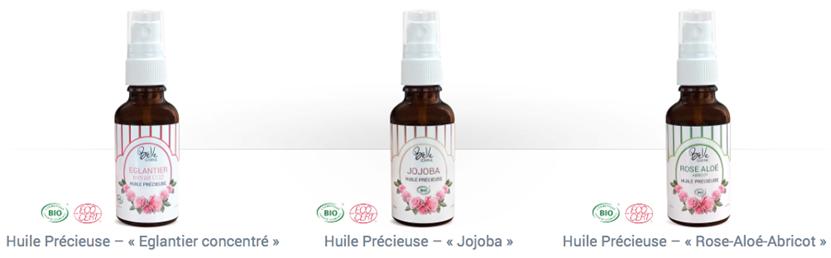 huiles précieuses Belle OemineBio