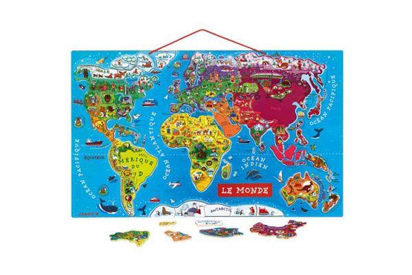 puzzle le monde magnétique janod