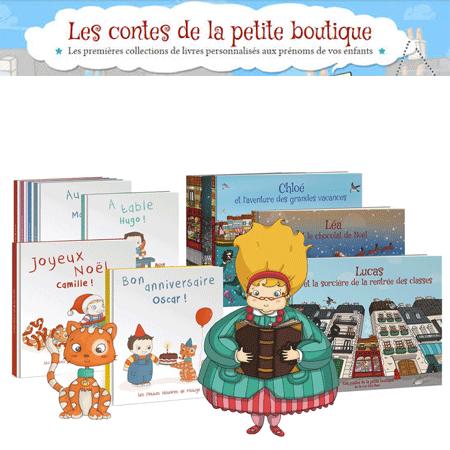 Les contes de la petite boutique !
