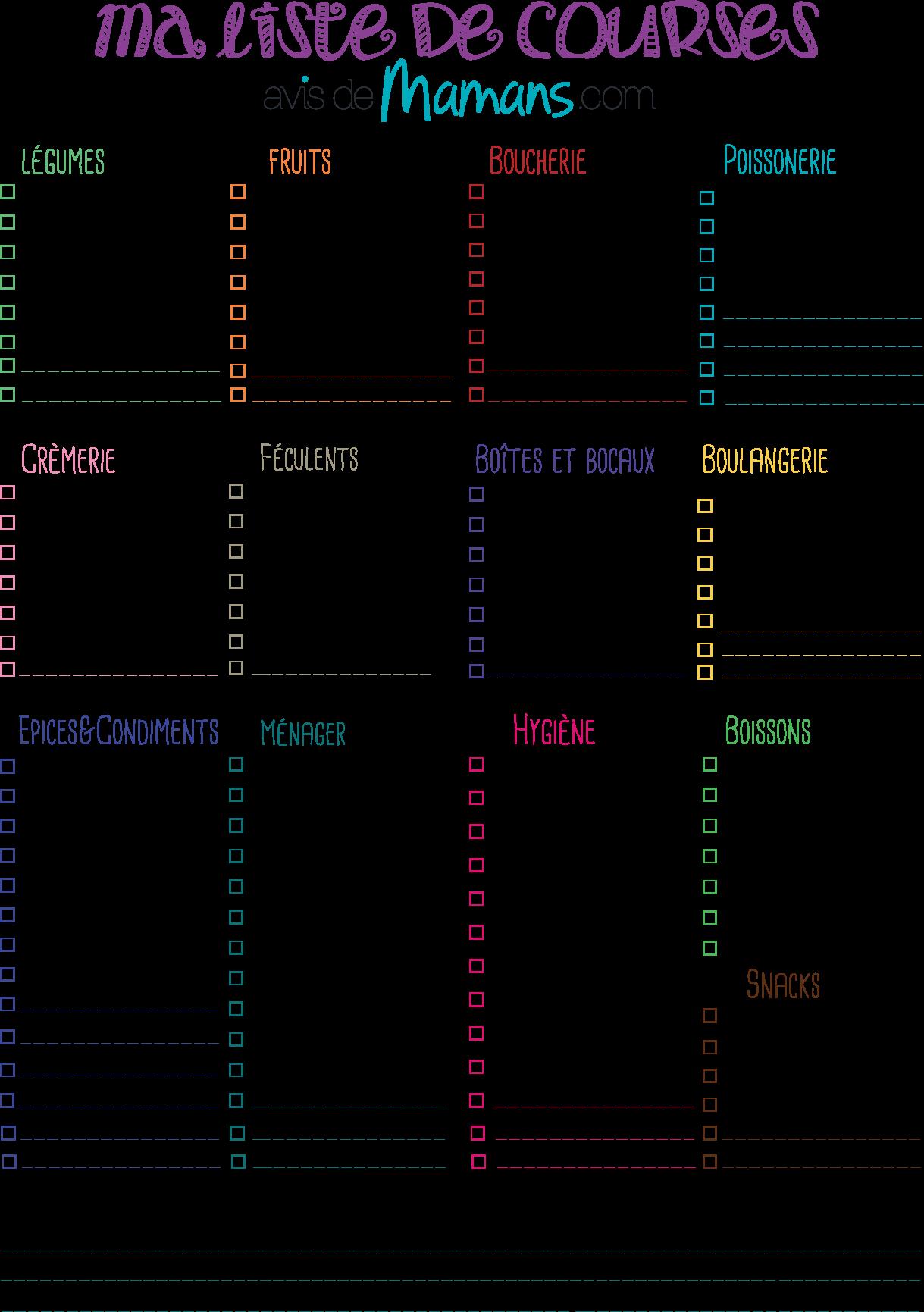 image de la liste