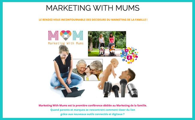 Tout savoir sur la conférence Marketing With Mums