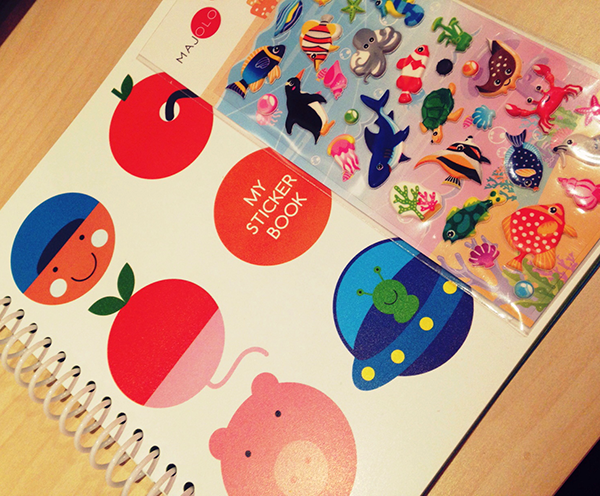 My Sticker Book 01