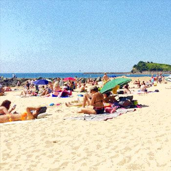 plage image