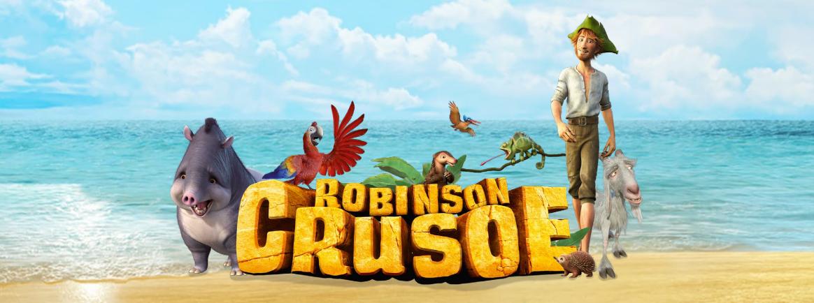 Affiche robison crusoé