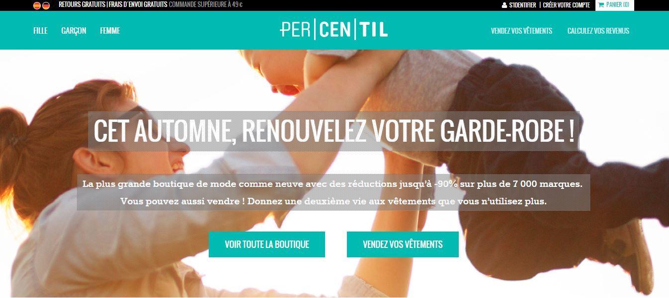 Site Percentil.fr