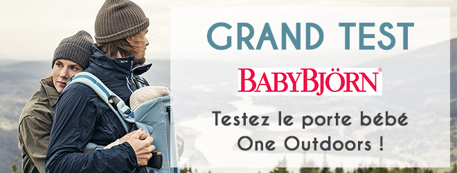 porte bébé one outdoors babybjörn