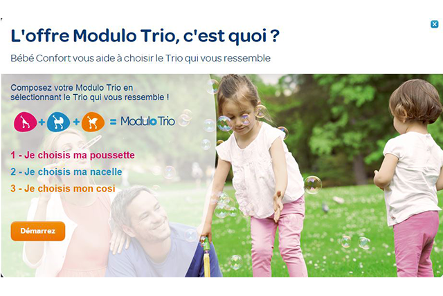 Première étape : le questionnaire du Modulo Trio