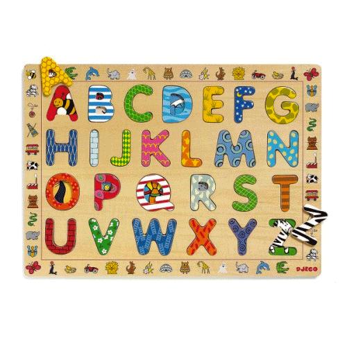 Un puzzle sur l'alphabet !