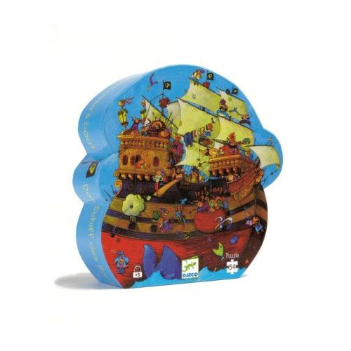 Un puzzle Bateau de Pirate !