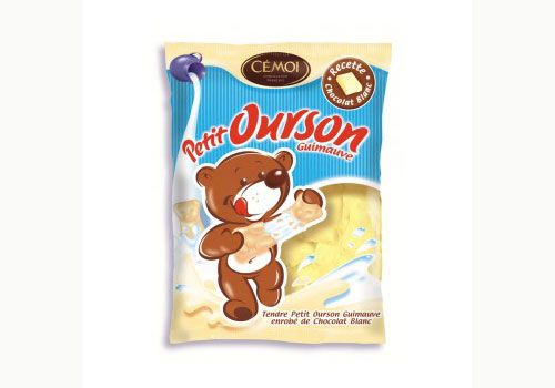 Oursons gimauves au chocolat blanc de Cémoi