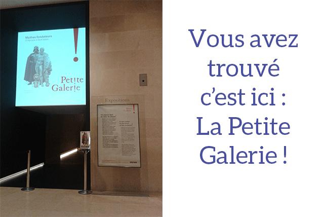 La Petite Galerie - aile Richelieu