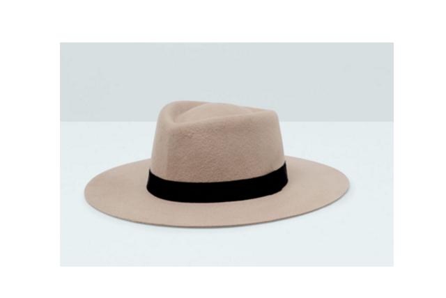 Chapeau Fedora en Laine Mango
