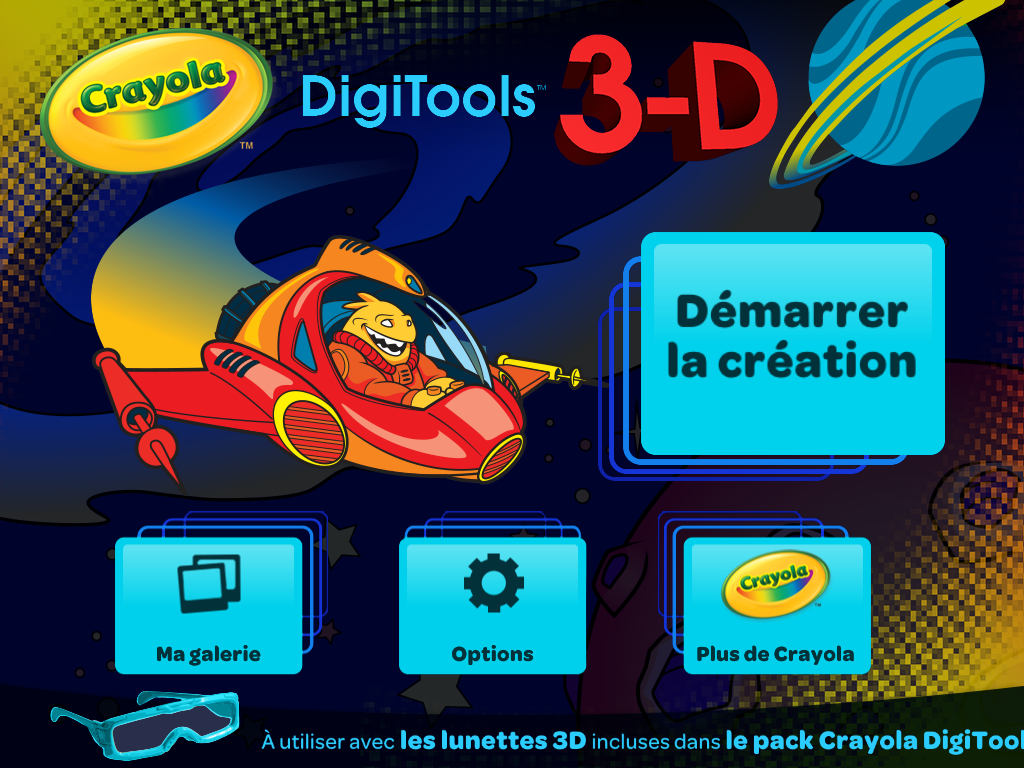 L'application Digitools 3D