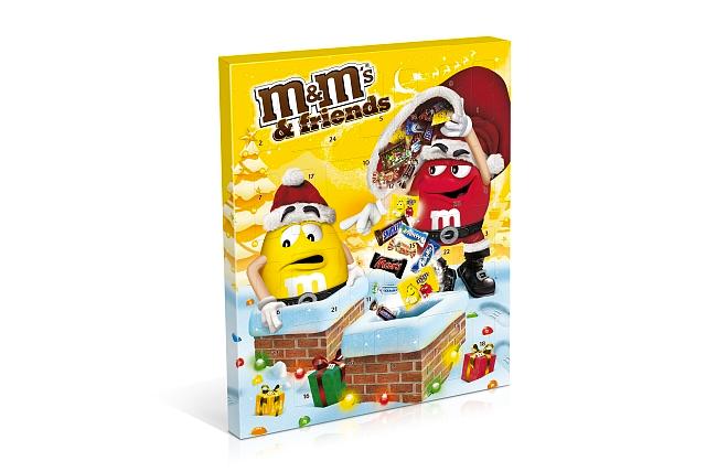 La calendrier M&M's & Friends