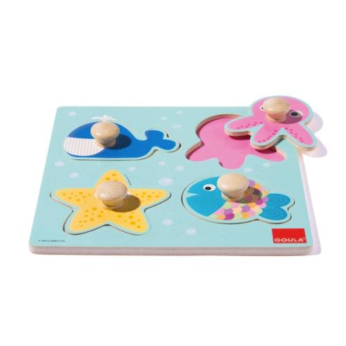 Un puzzle sur le thème de la mer