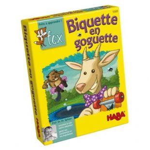 Jeu de cartes Biquette en goguette de Haba.