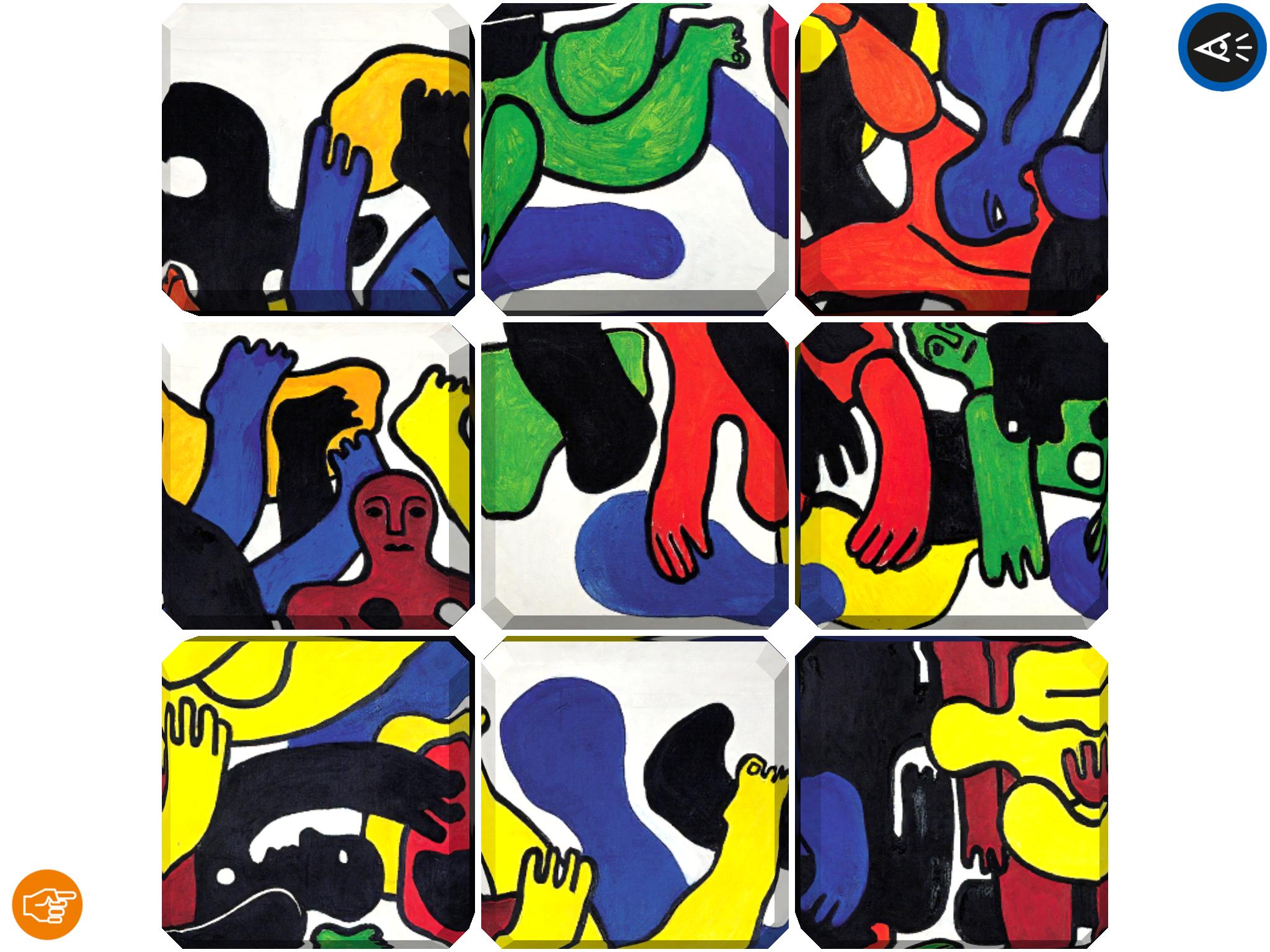 Jeu de daquin - Fernand Leger