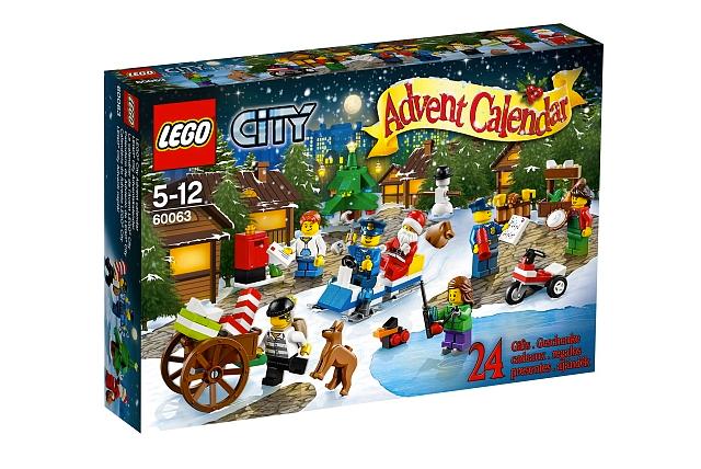 La calendrier LEGO City