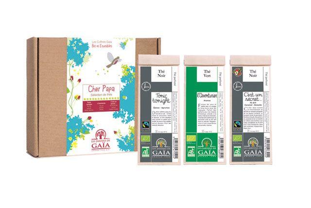 Un Coffret pour les amateurs de thé