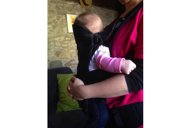 L'installation du porte-bébé chez LoloGuigui