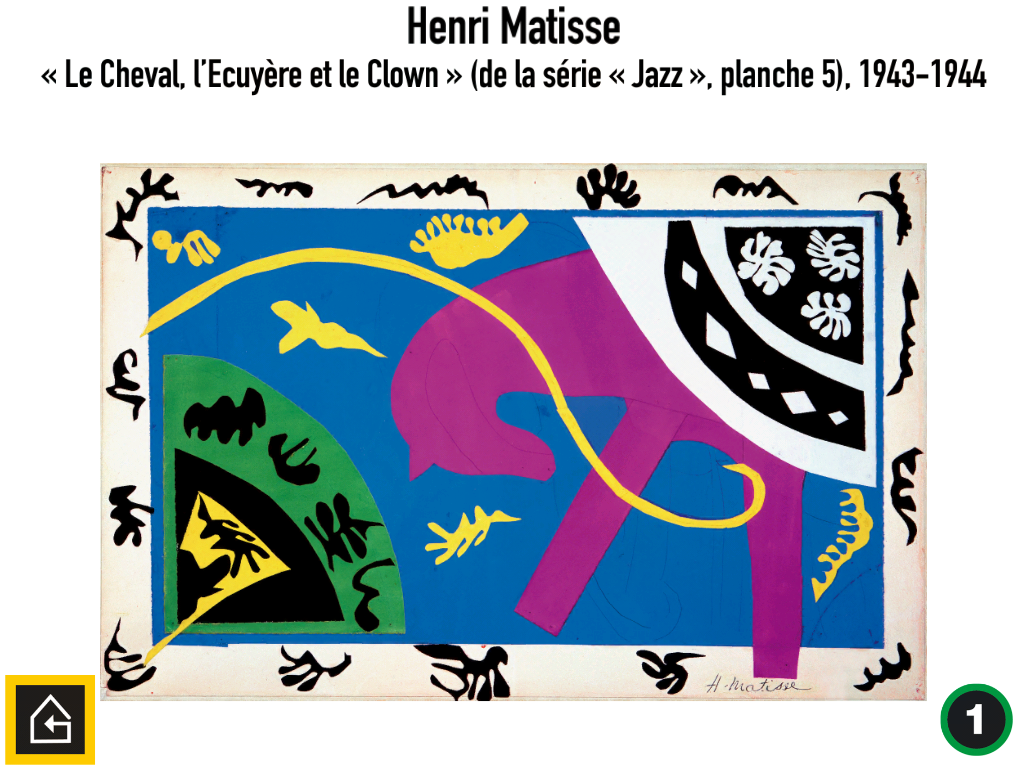 Matisse reconstitué