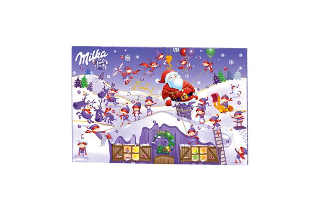 Le calendrier Milka